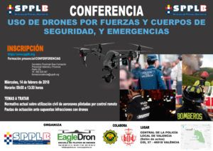 Conferencia SPPLB y EagleDron