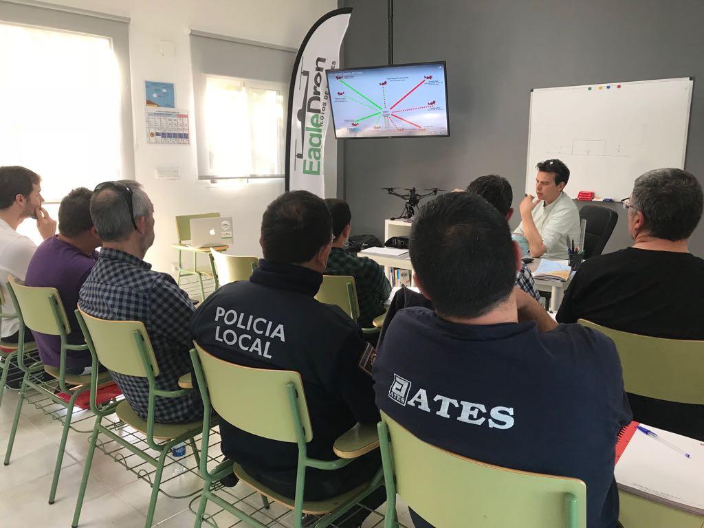 EagleDron curso radiofonista escuela piloto drones valencia