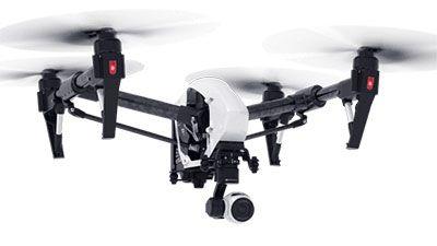 Dron multicóptero Dji Inspire 1