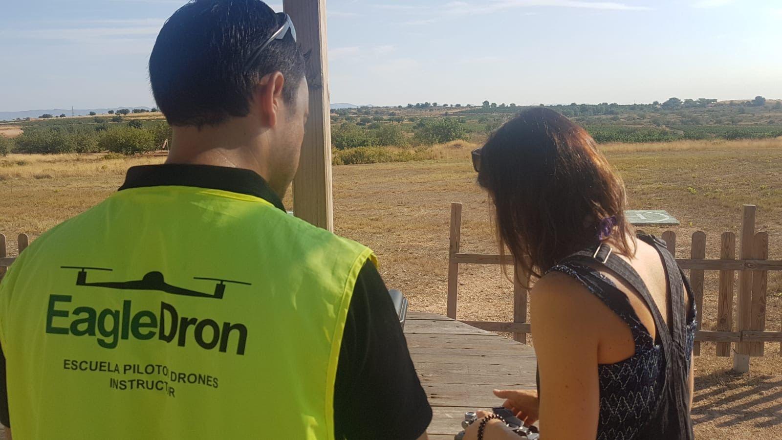 Prevuelo del curso oficial de iniciación a piloto drones