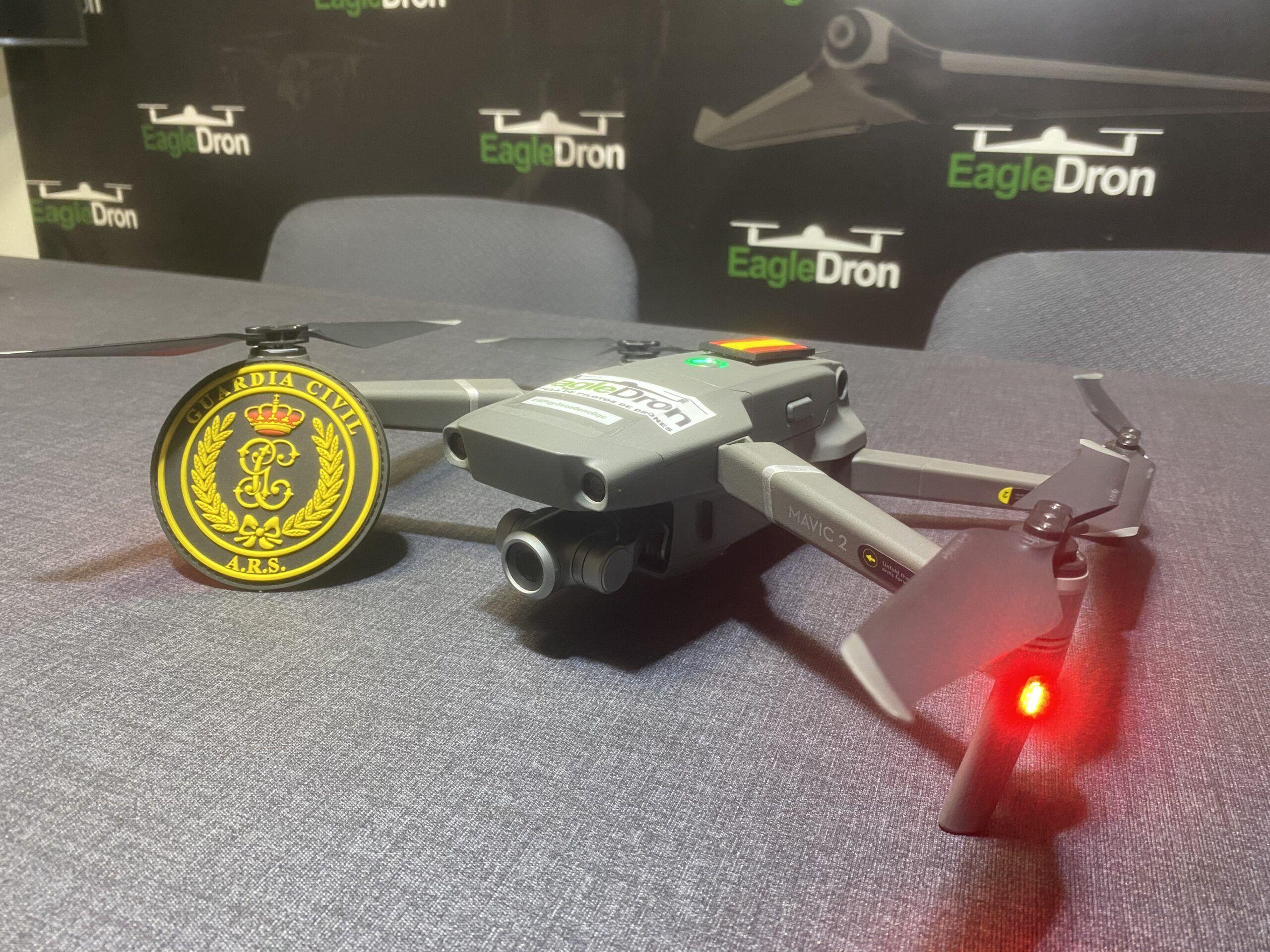 Guardia Civil Agradecimiento EagleDron dron Mavic del GRS